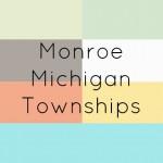 Monroe County Michigan Townships