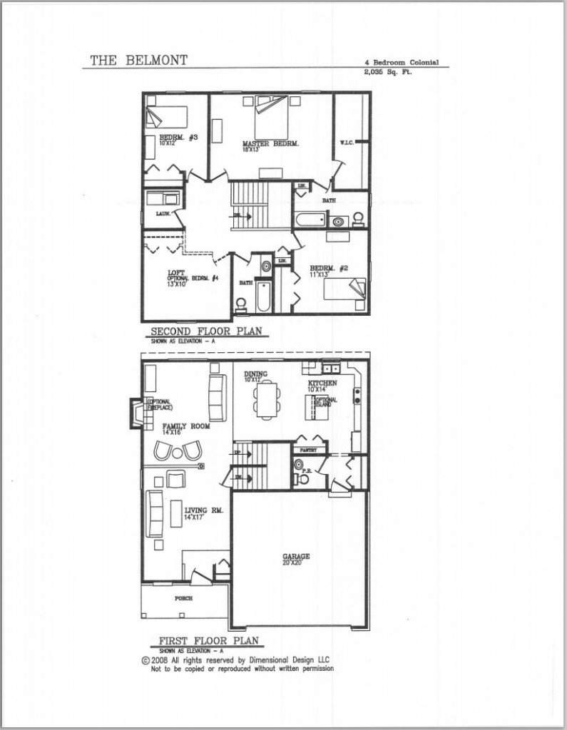Meadowbrook subdivision by breault homes milan mi Michigan home builders floor plans