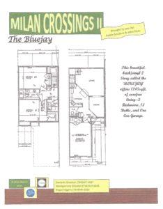 Milan Crossings 11 Floor Plans